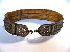 Buckle of Hungarian belt
