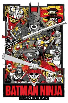 batman ninja subtitles for japanese