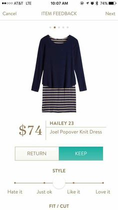 Would love to try in a different color - already have too much Navy!
