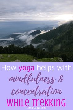 How Yoga Helps Mindfulness and Concentration While Trekking Meditation For Anxiety, Meditation For Beginners, Meditation Practices, Guided Meditation, Meditation Quotes, Trekking Holidays, Mental Issues, Improve Mental Health, Pranayama
