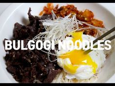Bulgogi noodles | 불고기 비빔면 - YouTube