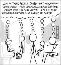 A world of sheep?