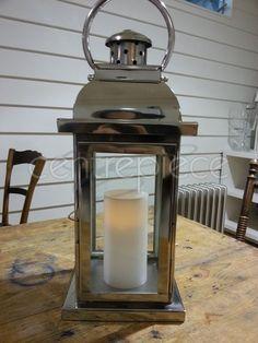 Lantern Silver Shiny
