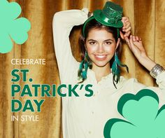 Pick up accessories to complete your St. Patrick's Day look. Buy one get one FREE at Claire's level 1.