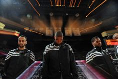 Manu Ginobili, Tim Duncan, and Patrick Mills, San Antonio Spurs