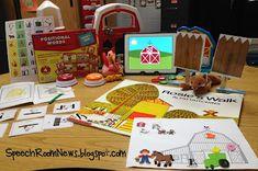 Speech Room News: Rosie's Walk Preschool Lesson for Speech & Language