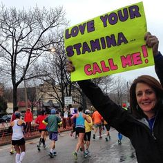 Pin for Later: These Hilarious Boston Marathon Signs Make Us Want to Run Faster Now That's Motivation