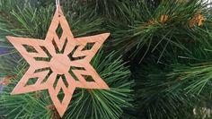 Scroll Saw Diamond Star Ornament by ScrollSawGrandpa on Etsy
