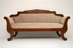 Antique Sofas, Settees, Couches And Upholstered Seating