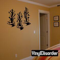Tears Ripped Wall Decal - Vinyl Decal - Car Decal - CD10020