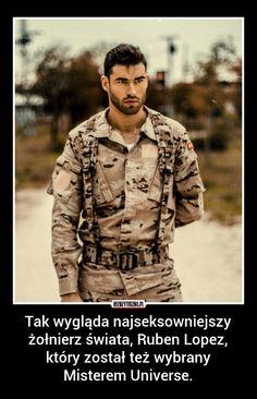Tak wygląda najseksowniejszy żołnierz świata,… » Bezuzyteczna.pl- Codzienna dawka wiedzy bezuzytecznej