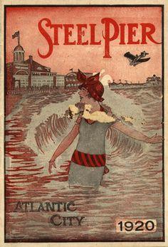 1920's ad....Steel Pier, Atlantic City, NJ