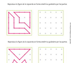 10 Trazos de simetría - Inicial