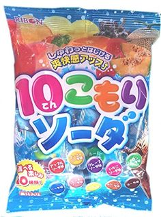 Ribon 10 Komori Soda 10 Flavors Soda Candy  20 Pieces -- You can find more details by visiting the image link.Note:It is affiliate link to Amazon.