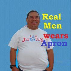 Gerald Lay: Real Men wears Apron