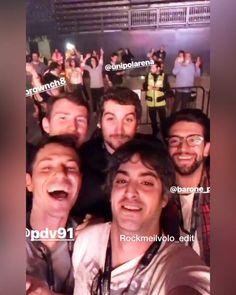 #instagramstories by @prof91 with @barone_piero @brownch8 @pdv91 #maxnekrenga #concertnight #unipolarena #bologna #thankyouforsharing…