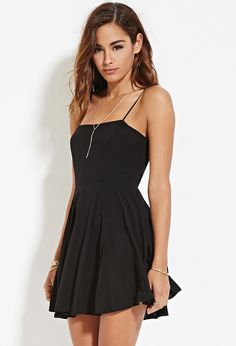 Cutout-Back Cami Dress