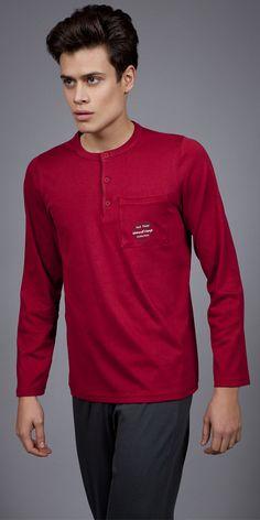 Men's Pyjamas Interlock 1736 | Pyjamas| Vamp! Pyjamas, Polo Shirt, Fashion Outfits, Luxury, Clothing, Mens Tops, Shirts, Collection, Style
