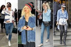 90s Teenager Style | Rihanna Loves the '90s - Stars Who Love '90s Fashion - StyleBistro
