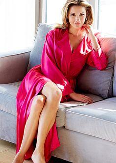5f50b69b8c Ariadne Silk Robe - Women s Luxury Silk Robe