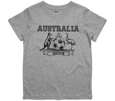 El Cheapo Australia 2014 (Black) Youth Grey Marle T-Shirt