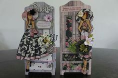Lovely dolls and wardrobes