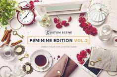 Custom Scene - Feminine Ed. - Vol. 2 by Román Jusdado on Creative Market