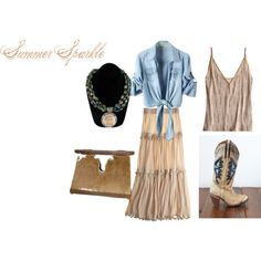 """""""Summer Sparkle: Breezy Beauty"""" by daniellemhayes on Polyvore"""