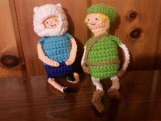 Tumblr+crochet | ... Of Zelda And Adventure Time Crochet Dollsfrom Beauty In wallpaper