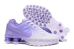 f86bf7f56b7 Women NIKE SHOX DELIVER White Purple 809 2016 In Stock Online BJaxnmX