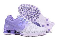 8b0fd3f00f3066 Women NIKE SHOX DELIVER White Purple 809 2016 In Stock Online BJaxnmX