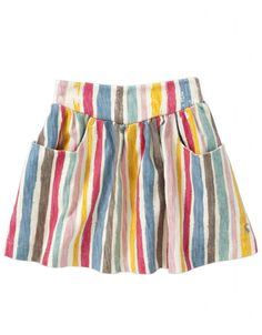 Rainbow print skirt from Joules at Cocosa