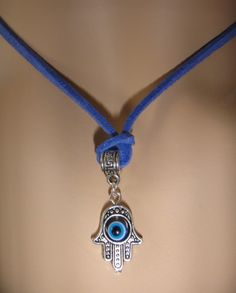 We all need aid for good luck these days and this necklace is that perfect piece of jewelry made specially for  that, the Hansa hand evil eye of Kabbalah good luck charm.                The necklace i