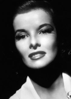 Katharine Hepburn is the epitome of beauty and brains.
