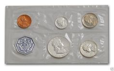 1962 UNITED STATES SILVER PROOF SET