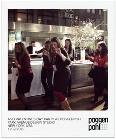 ASID VALENTINE´S DAY PARTY AT POGGENPOHL PARK AVENUE DESIGN STUDIO NEW YORK, USA