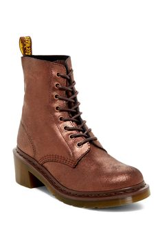 Clemency Chunky Heel Combat Boot by Dr. Martens on @nordstrom_rack