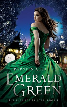 Emerald Green by Kerstin Gier (Book #3 in the Ruby Red Trilogy)