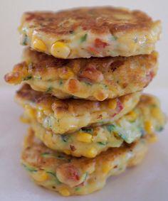 Buñuelos vegetales Veggie Recipes, Mexican Food Recipes, Sweet Recipes, Real Food Recipes, Vegetarian Recipes, Cooking Recipes, Yummy Food, Healthy Recipes, A Food