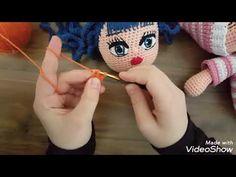 Crochet Doll Pattern, Maya, Snowman, Felt, Embroidery, Dolls, Knitting, Disney Characters, Youtube