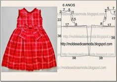 Diy idea how to make tutorial sew girl dresslace child dress with step-by-stepFashion molds for Measure Discussion on LiveInternet - Russian Service Online DiariesKids pattern resize for doll Baby Girl Dress Patterns, Baby Clothes Patterns, Dress Sewing Patterns, Clothing Patterns, Little Girl Dresses, Girls Dresses, Diy Dress, Baby Sewing, Kind Mode