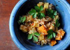 vegan roasted root jambalaya