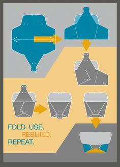 Folded Bags - No Sew