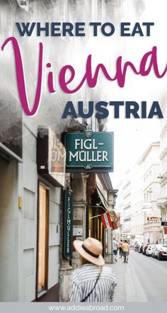 Vienna is a surprisingly great destination for foodies (or just people who like food). Read this guide to find out what to eat in Vienna (hint: there's a lot of coffee, cake, and schnitzel) and the best restaurants in Vienna to eat it in. Eating is definitely one of the best things to do in Vienna!