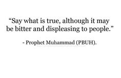 #Hadith: Speak the #truth