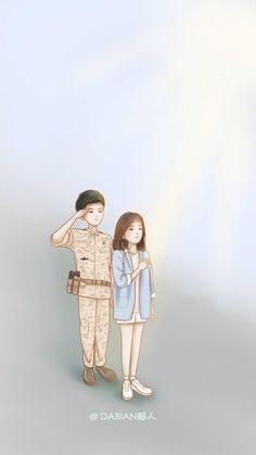 Captain Yoo ShiJin & Doctor Kang MoYeon salute