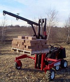 Homemade Yard crane - MyTractorForum.com - The Friendliest Tractor Forum and Best Place for Tractor Information