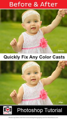 How To Fix Color Casts in Photos Photoshop Tutorial  #iheartfaces #photography