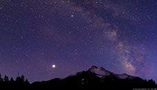 Park Butte a Mount Jefferson (Oregon, USA)