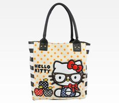 Hello Kitty Tote: Scarf ~ LOVE this purse!!